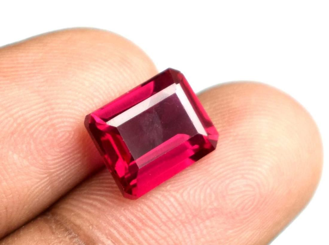 5.40 Ct Natural Mozambique Red Ruby IGL Certified