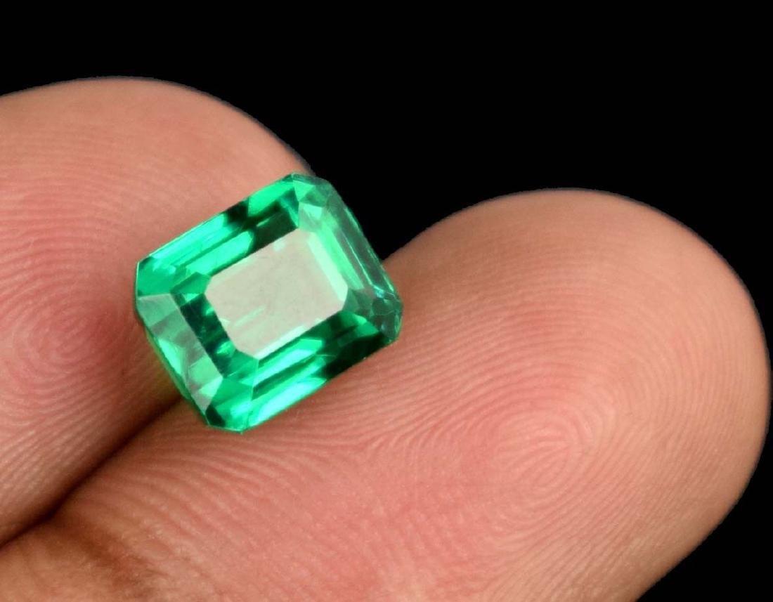 Natural 5.30 Ct Untreated Green Demantoid Garnet IGL