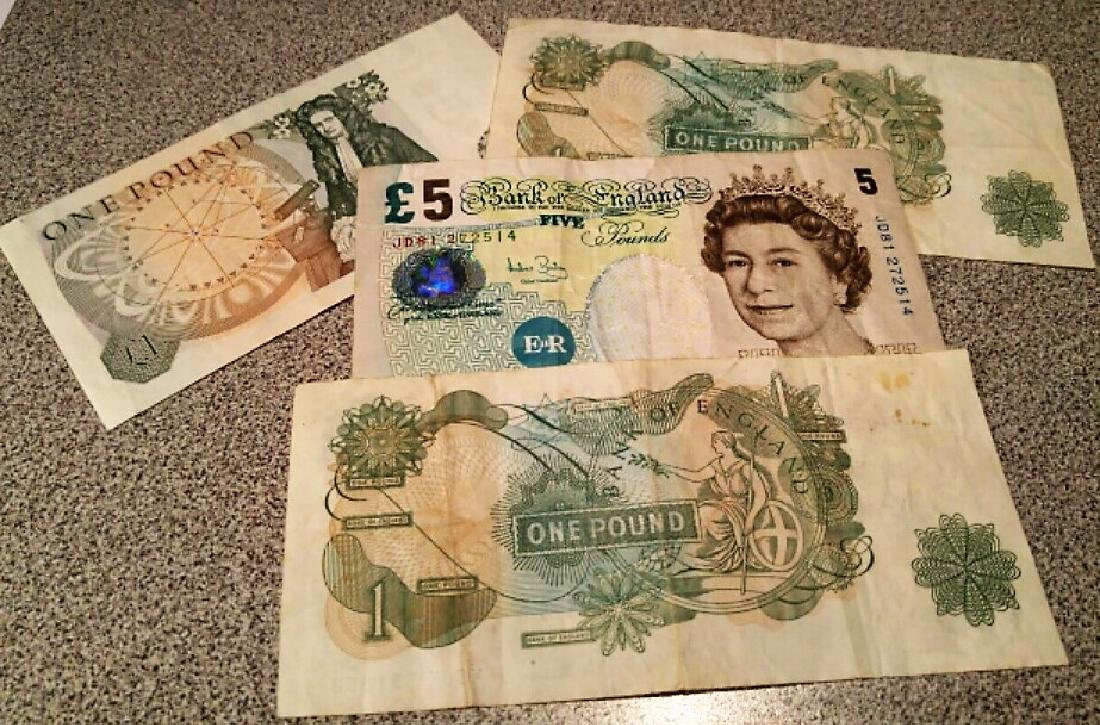 Bank of England Bank Notes - 2