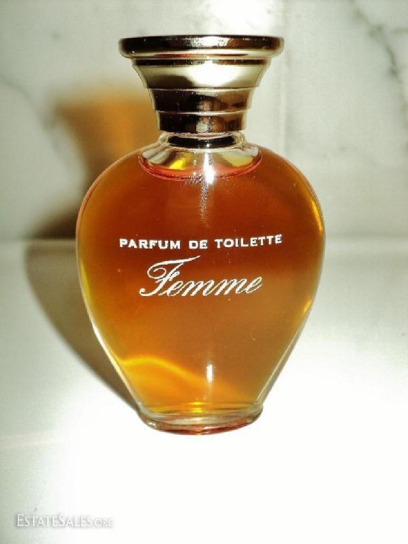 Vtg 1960's Parfum de Toilette Femme