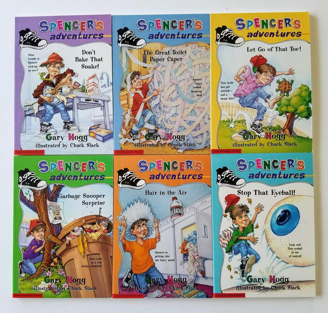 Hogg. 6 books, all signed presentations.