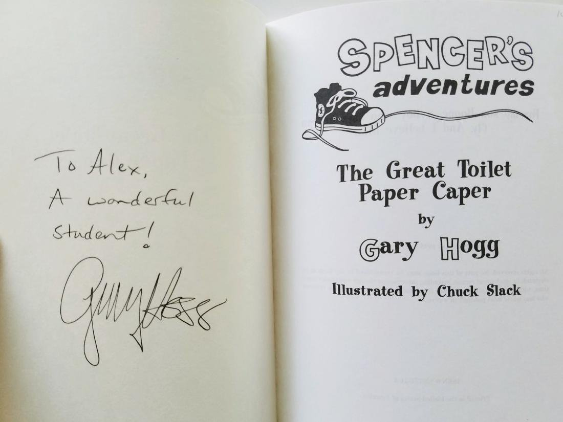 Hogg. 6 books, all signed presentations. - 3