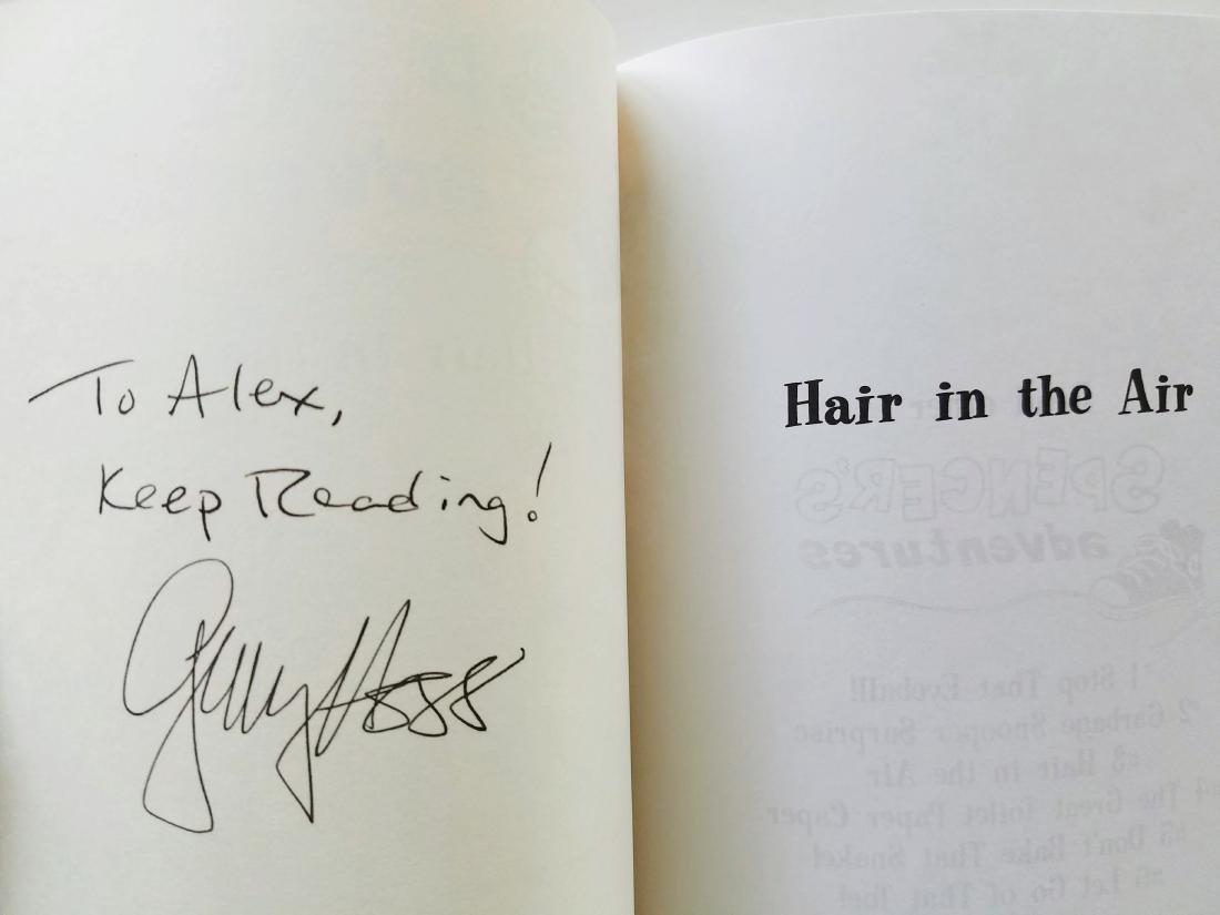 Hogg. 6 books, all signed presentations. - 6