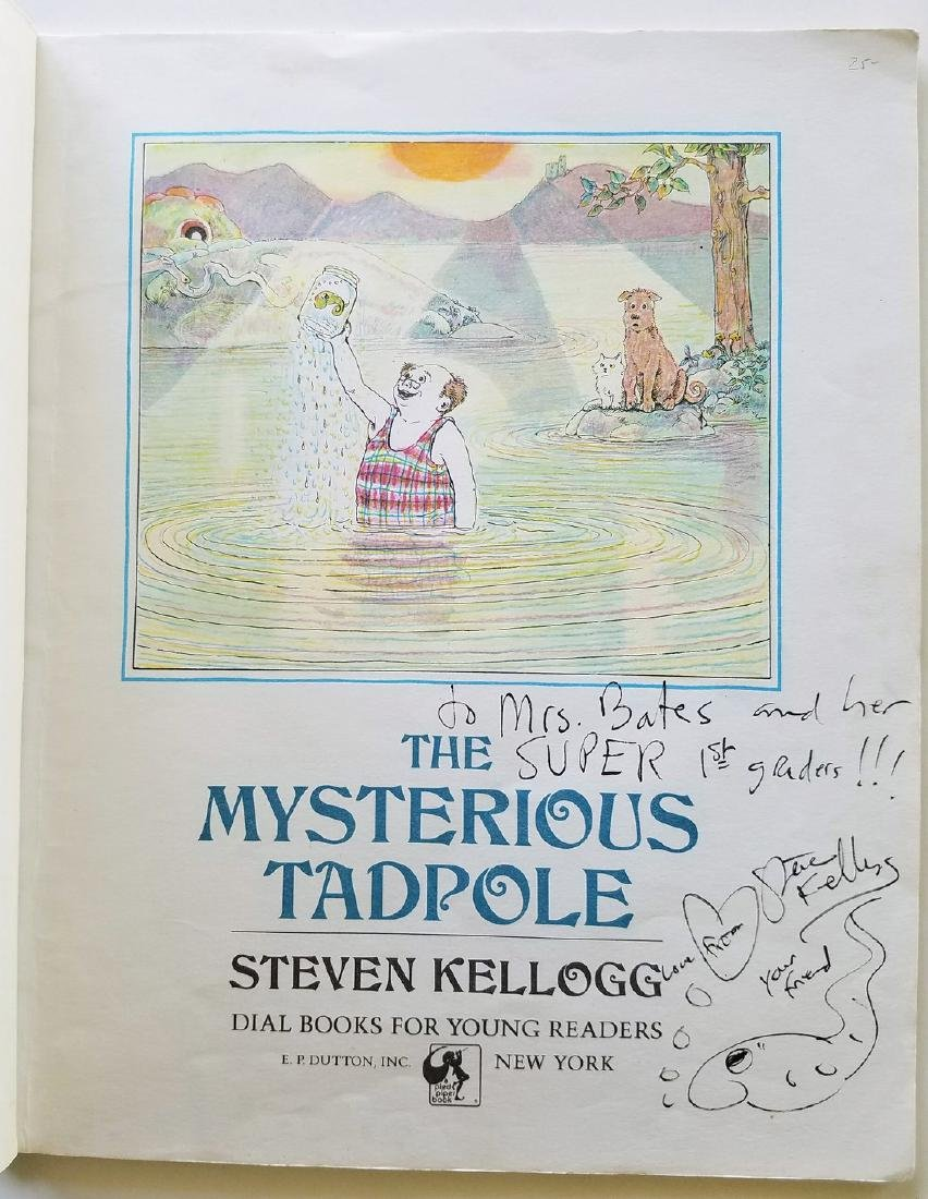 Kellogg. 6 books, all signed with a drawing. - 3