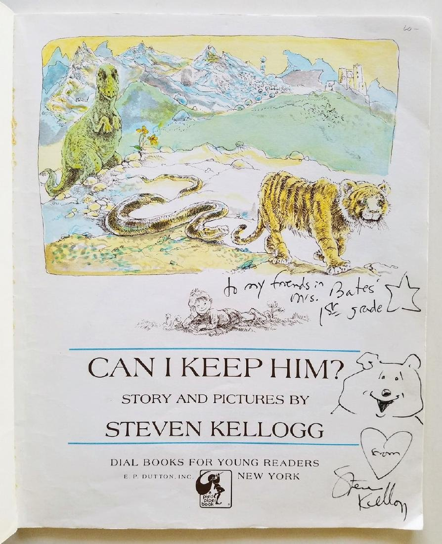 Kellogg. 6 books, all signed with a drawing. - 4