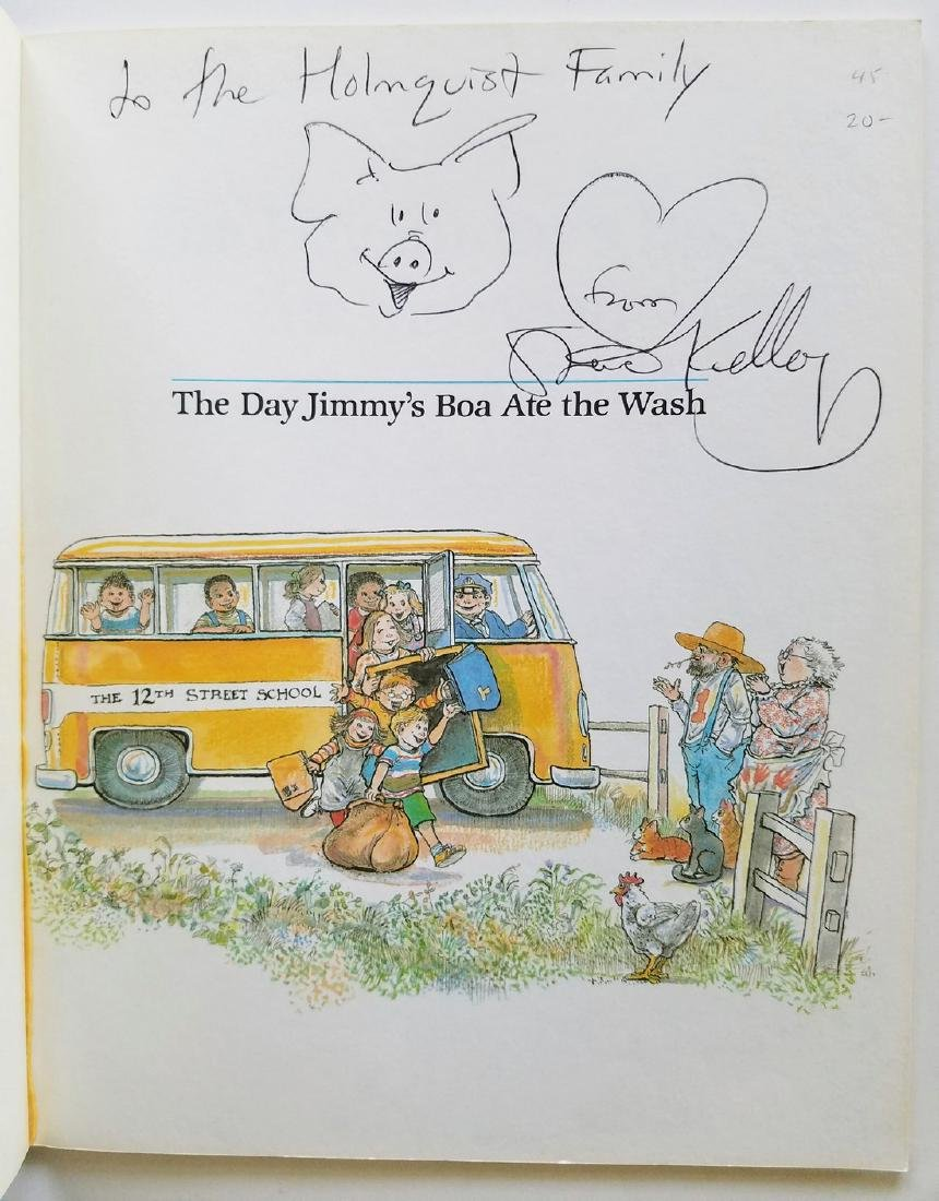 Kellogg. 6 books, all signed with a drawing. - 6