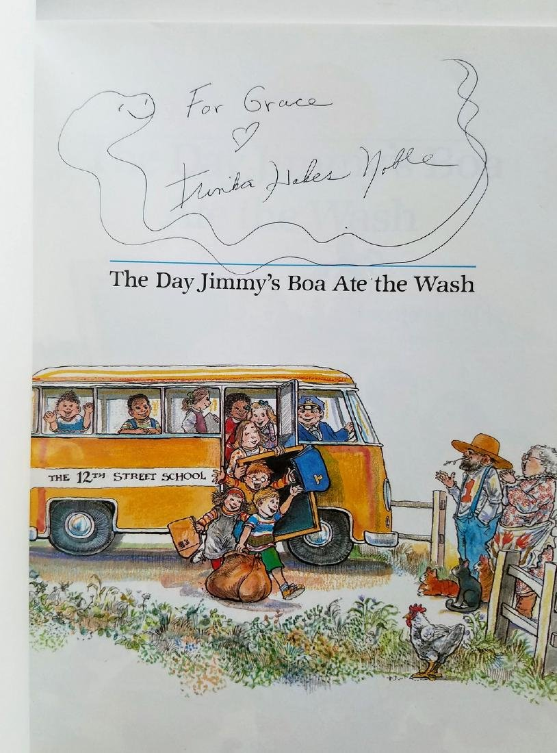 Kellogg. 6 books, all signed with a drawing. - 7