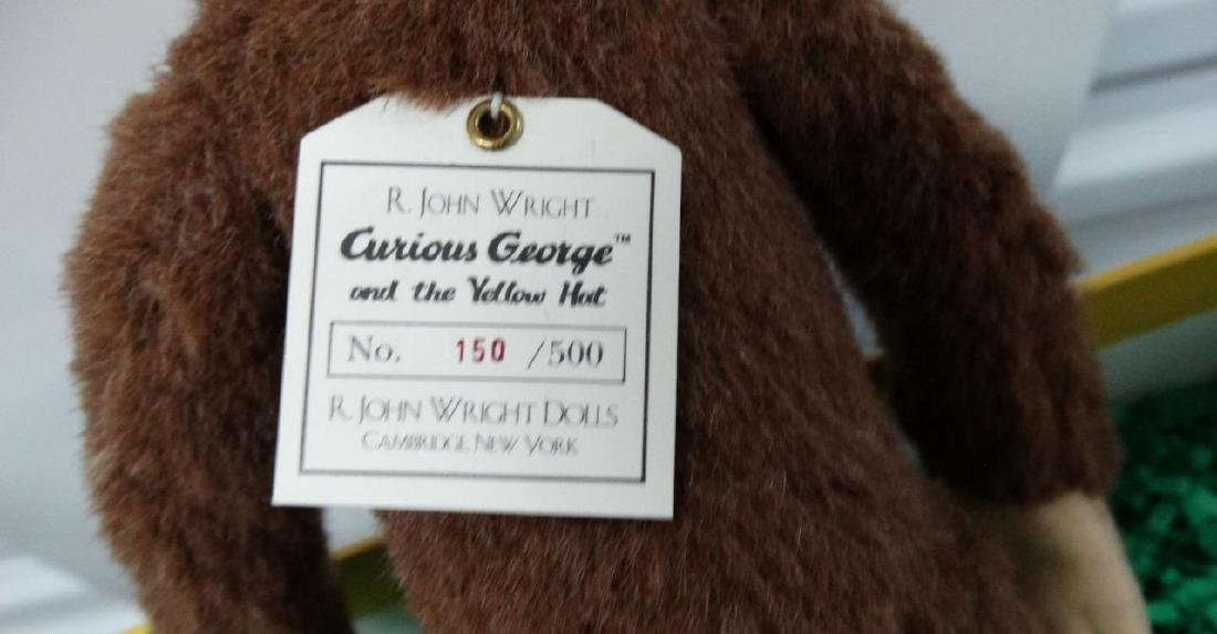 2002 R. John Wright Curious George and the Yellow Hat - 4