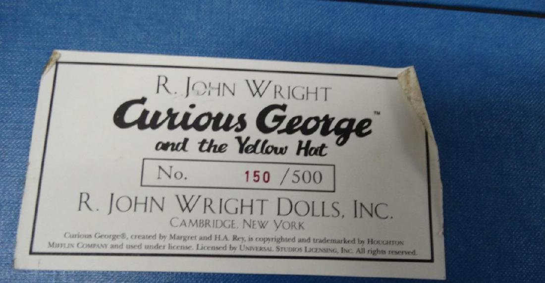 2002 R. John Wright Curious George and the Yellow Hat - 9
