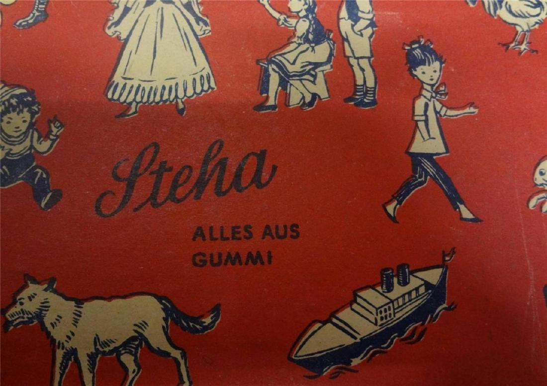 Steha Alles Aus Gum Toy Made in Germany Flocked Horse - 5