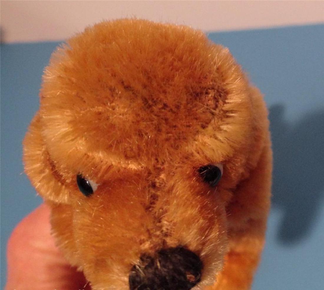 "Steiff Small Hexie Dachshund Dog 9cm 4"" Blown Glass - 2"