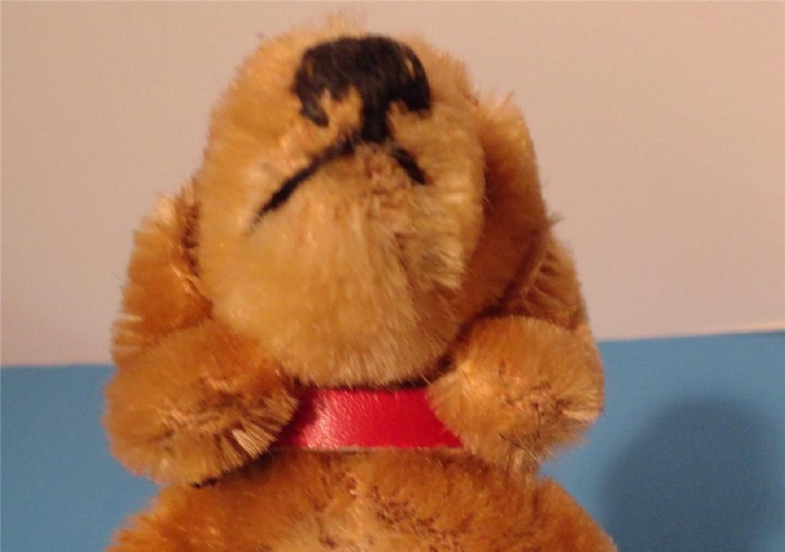"Steiff Small Hexie Dachshund Dog 9cm 4"" Blown Glass - 3"
