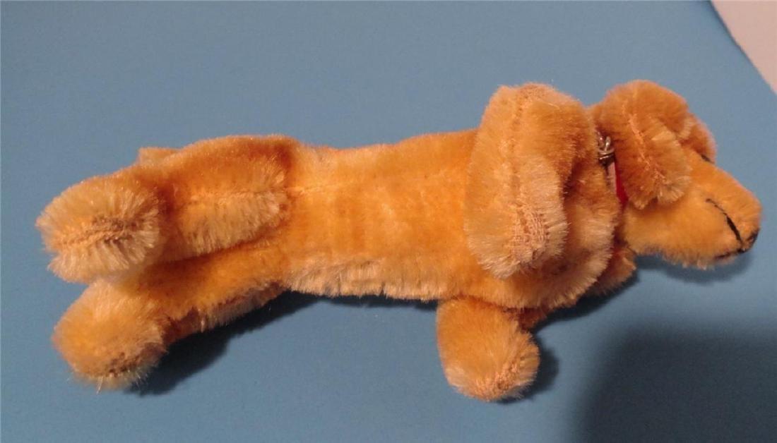 "Steiff Small Hexie Dachshund Dog 9cm 4"" Blown Glass - 4"