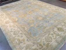 HAND KNOTTED OUSHAK DESIGN RUG 9x12