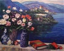 Mediterranean Still Life by John Zaccheo Print
