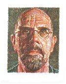 Chuck Close, Self Portrait