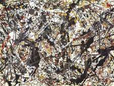 Jackson Pollock, Untitled (1948)