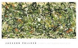 Jackson Pollock, Number 8 (1949)