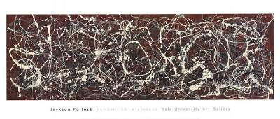 Jackson Pollock, Number 13A: Arabesque