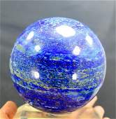 925 Gram Huge Size Blue Lapis Lazuli Sphere Ball ~