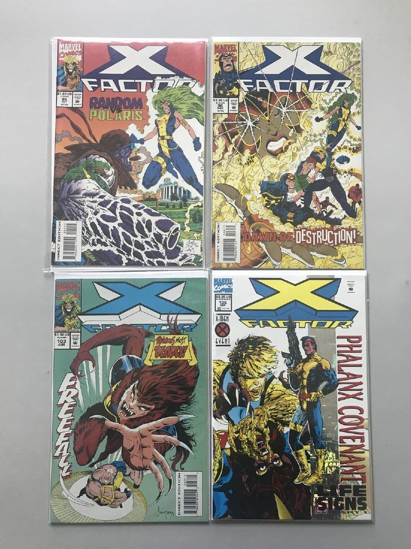 Lot of 9 X-Factor (1986 1st Series) from 85-106 VF Very - 2