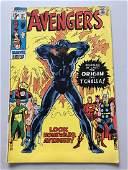Avengers (1963 1st Series) #87 Origin Black Panther