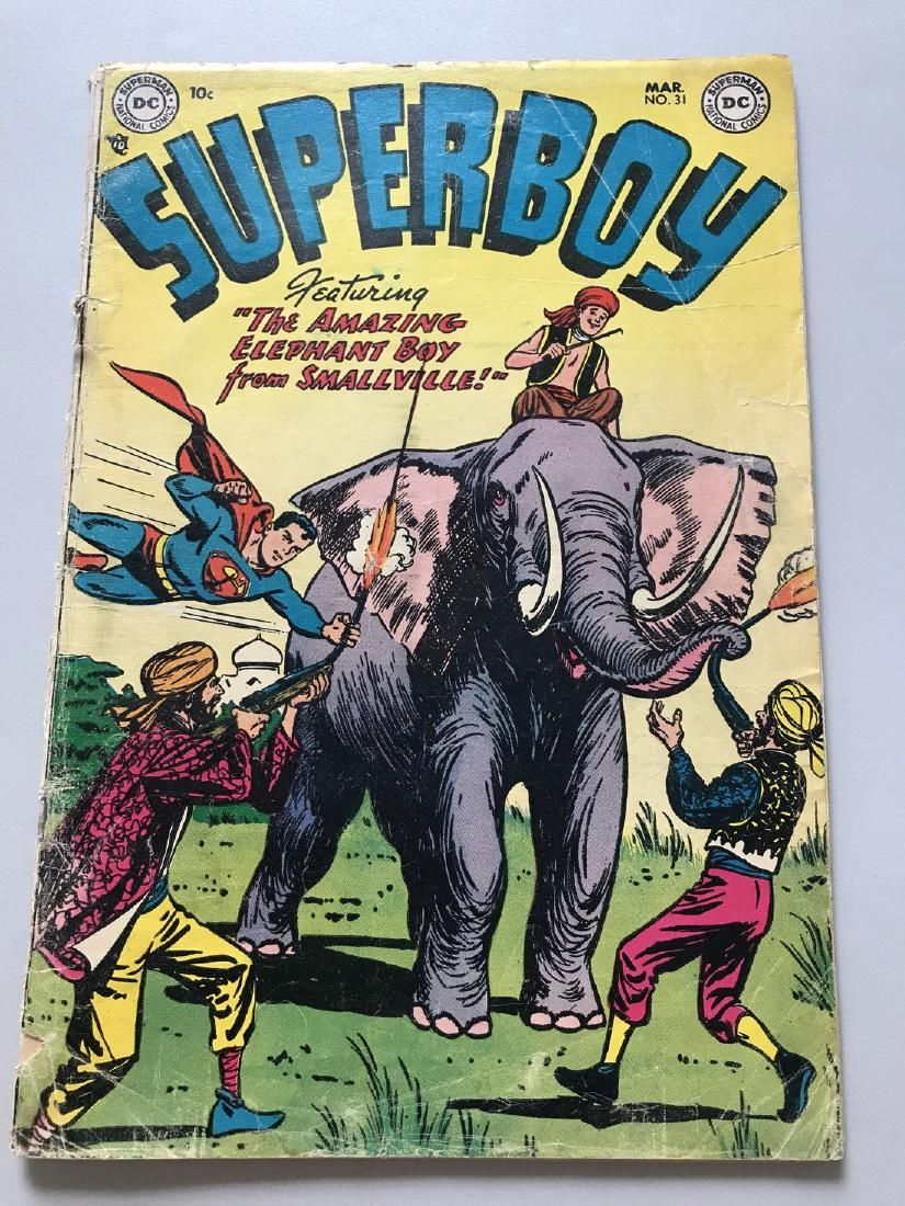 Superboy (1949-1979 1st Series DC) #31 Low Grade