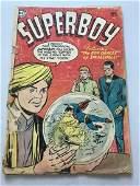 Superboy (1949-1979 1st Series DC) #35 Cover Detatched