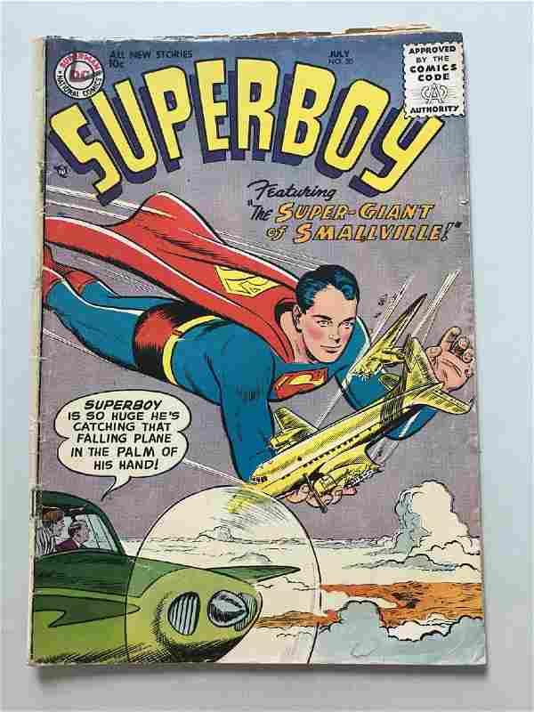 Superboy (1949-1979 1st Series DC) #50