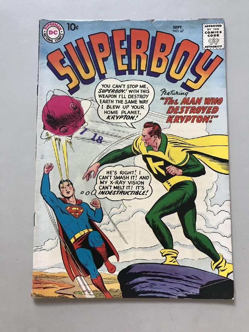 Superboy (1949-1979 1st Series DC) #67