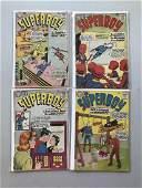 Lot of 4 Superboy (1949-1979 1st Series DC) #85 88 90