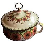 Furnivals, England Ceramic Chamberpot, ca. 1904