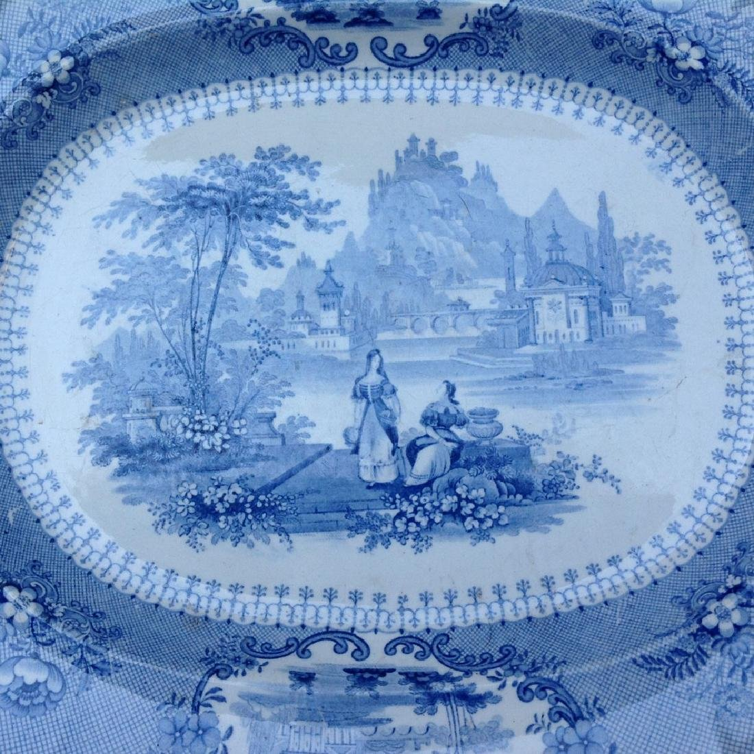 Dish with decorative romantic performance - 6