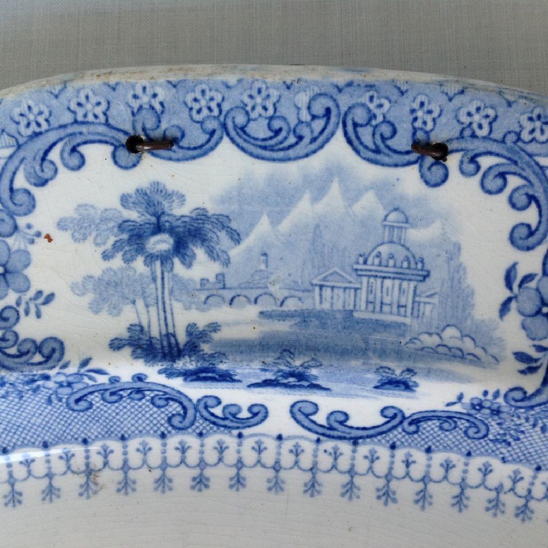 Dish with decorative romantic performance - 7