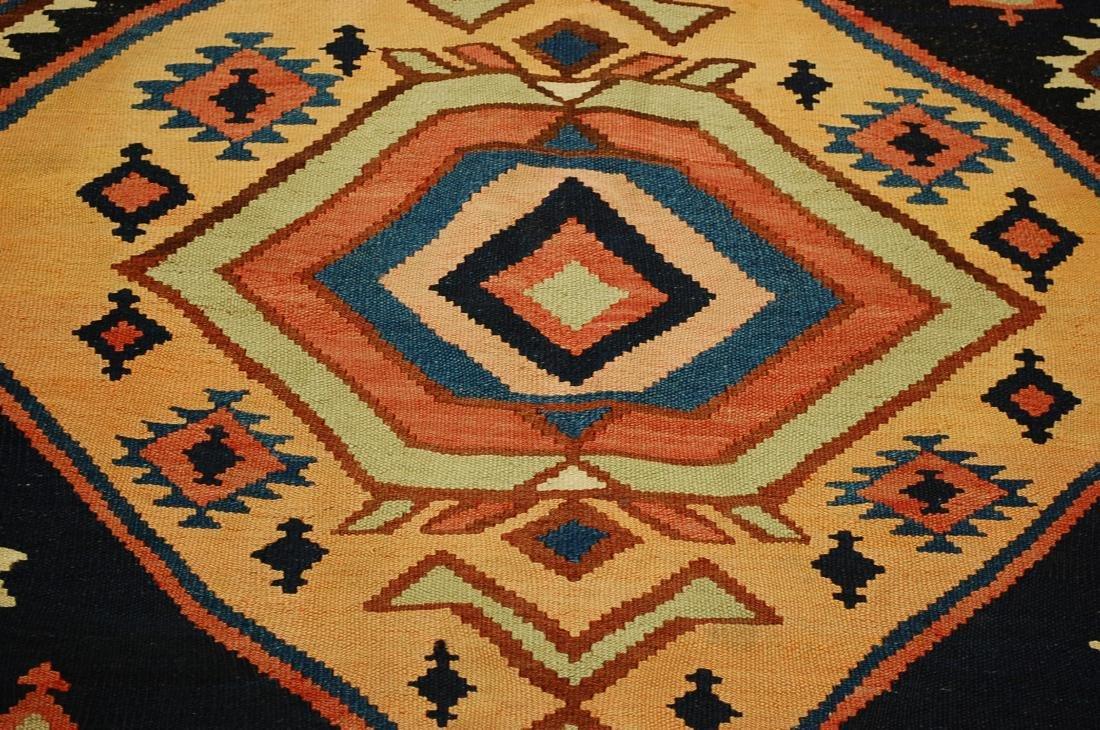 1910 Antique Rare Caucasian Prayer Kilim Rug 5.2x11.3 - 8