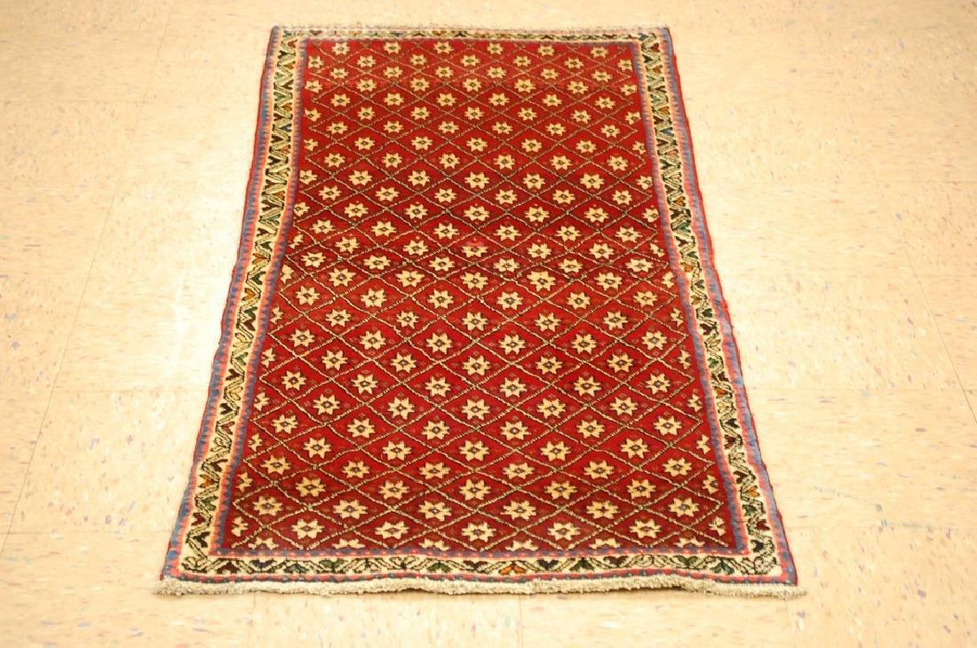 Vintage Persian Shiraz Qashkai Afshar Rug 2.4x5.4