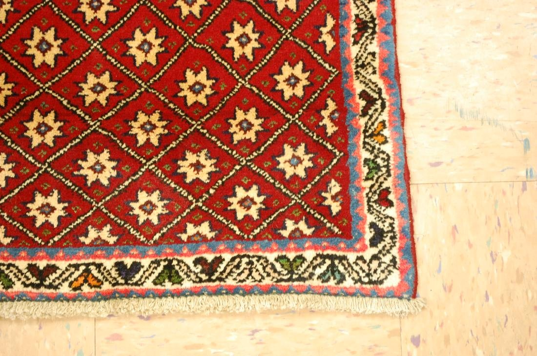 Vintage Persian Shiraz Qashkai Afshar Rug 2.4x5.4 - 2