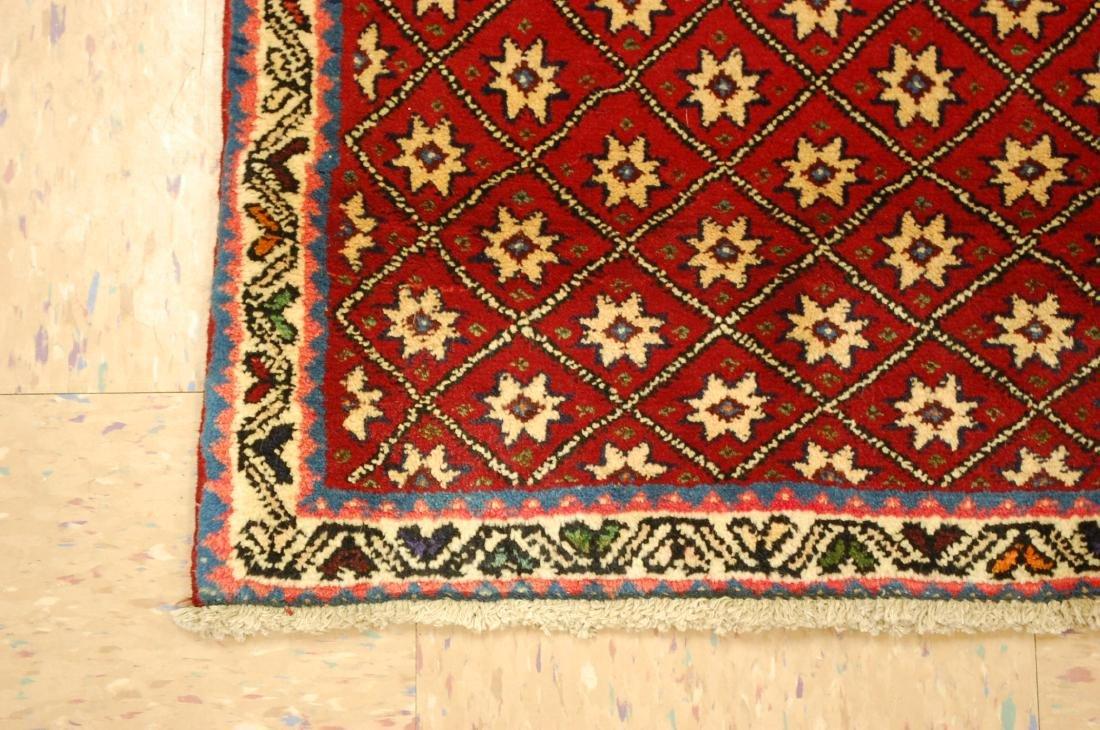 Vintage Persian Shiraz Qashkai Afshar Rug 2.4x5.4 - 3
