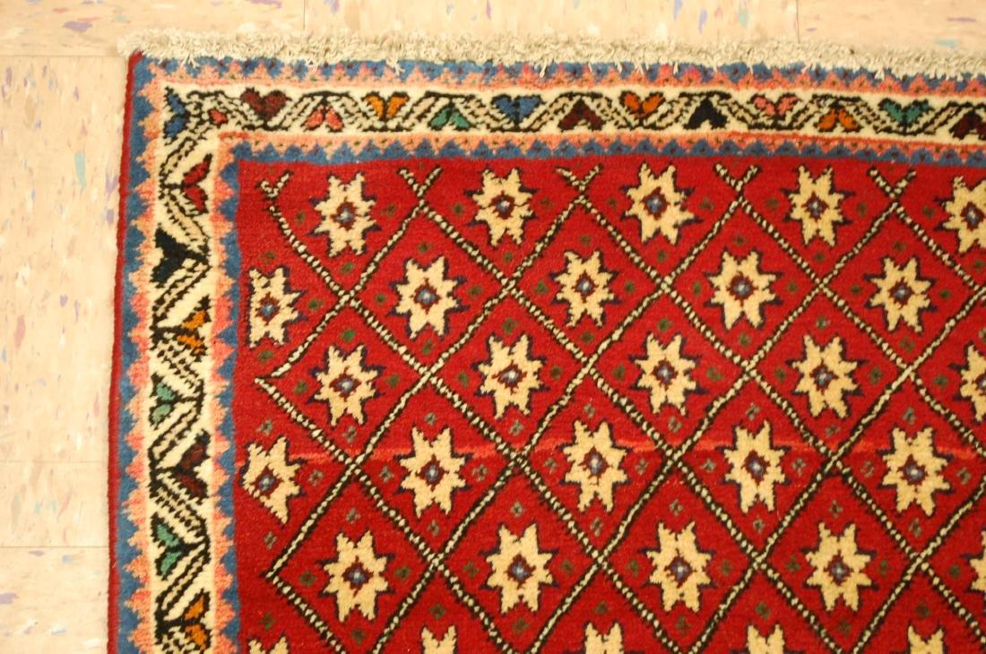 Vintage Persian Shiraz Qashkai Afshar Rug 2.4x5.4 - 4