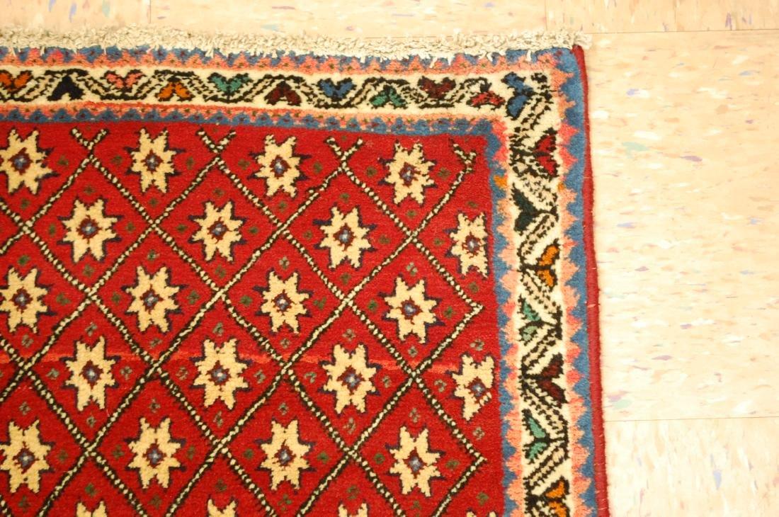Vintage Persian Shiraz Qashkai Afshar Rug 2.4x5.4 - 5