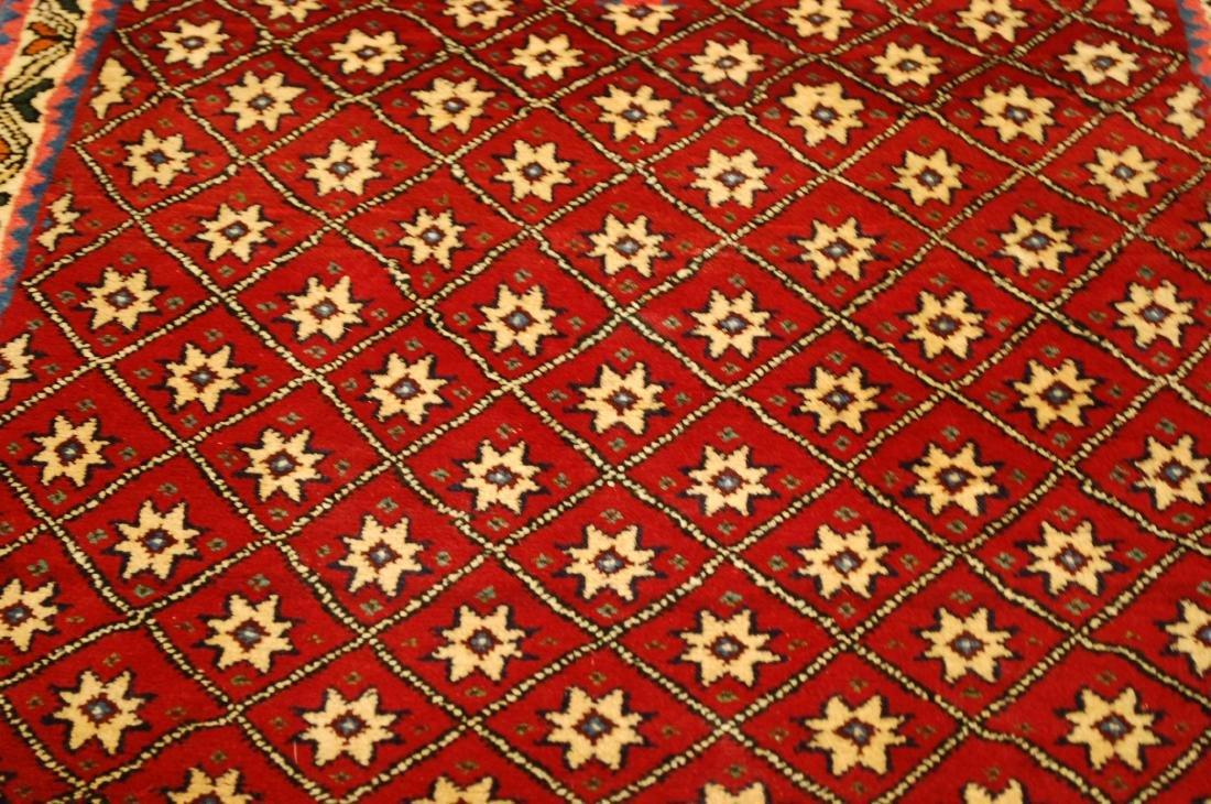 Vintage Persian Shiraz Qashkai Afshar Rug 2.4x5.4 - 6