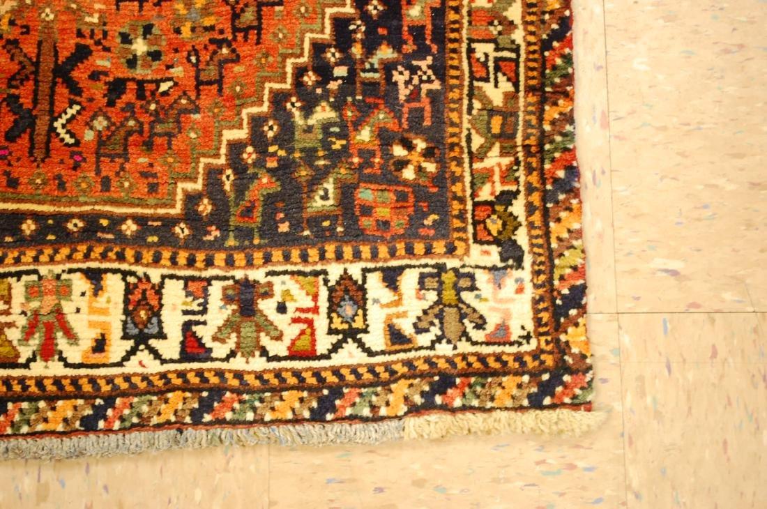 Vintage Persian Shiraz Qashkai Afshar Rug 3.x5.4 - 2