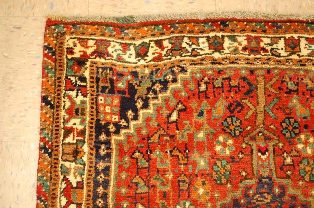 Vintage Persian Shiraz Qashkai Afshar Rug 3.x5.4 - 4