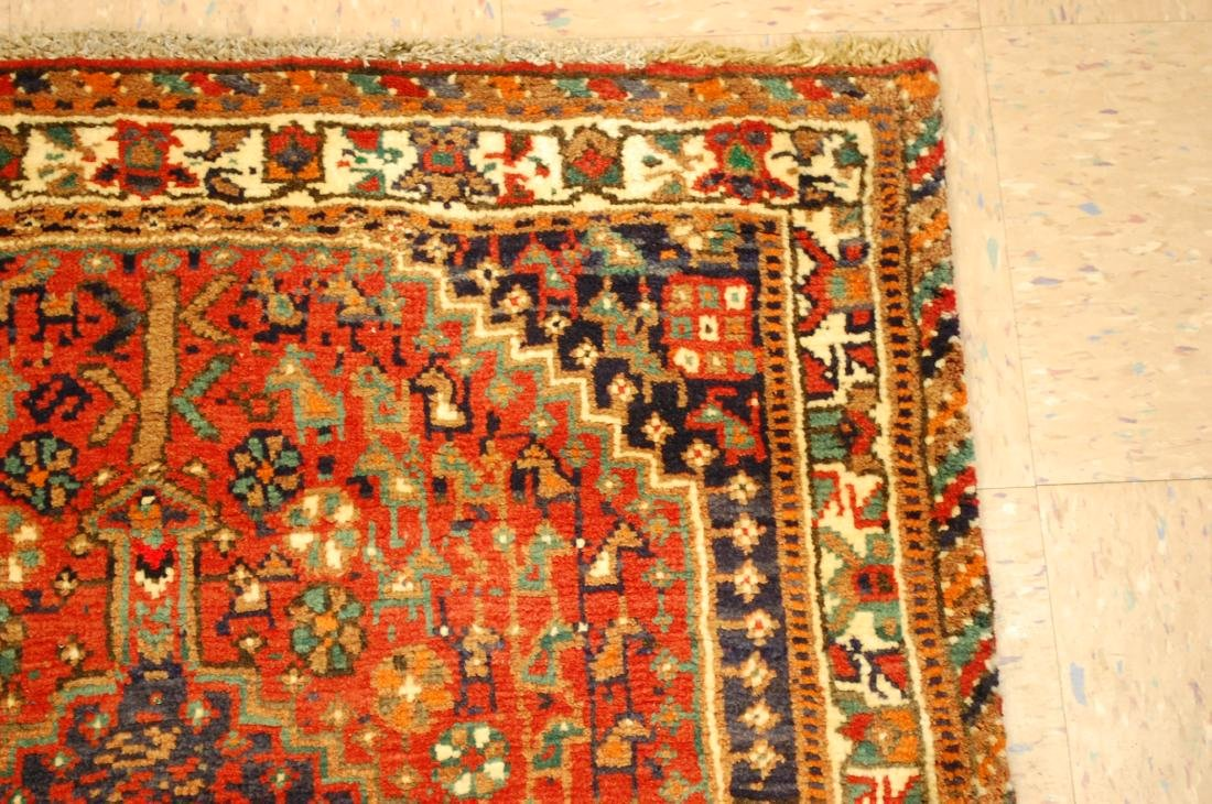 Vintage Persian Shiraz Qashkai Afshar Rug 3.x5.4 - 5
