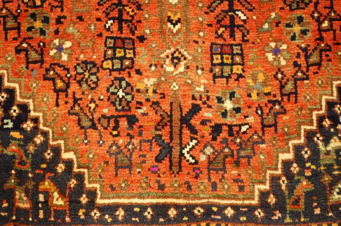 Vintage Persian Shiraz Qashkai Afshar Rug 3.x5.4 - 7