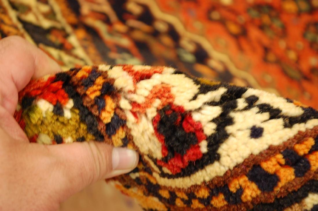 Vintage Persian Shiraz Qashkai Afshar Rug 3.x5.4 - 8