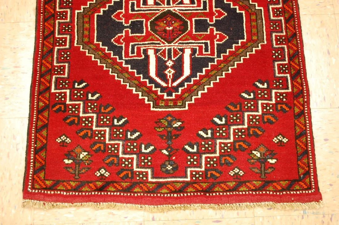 Vintage Persian Shiraz Qashkai Afshar Rug 2.8x5.4 - 2
