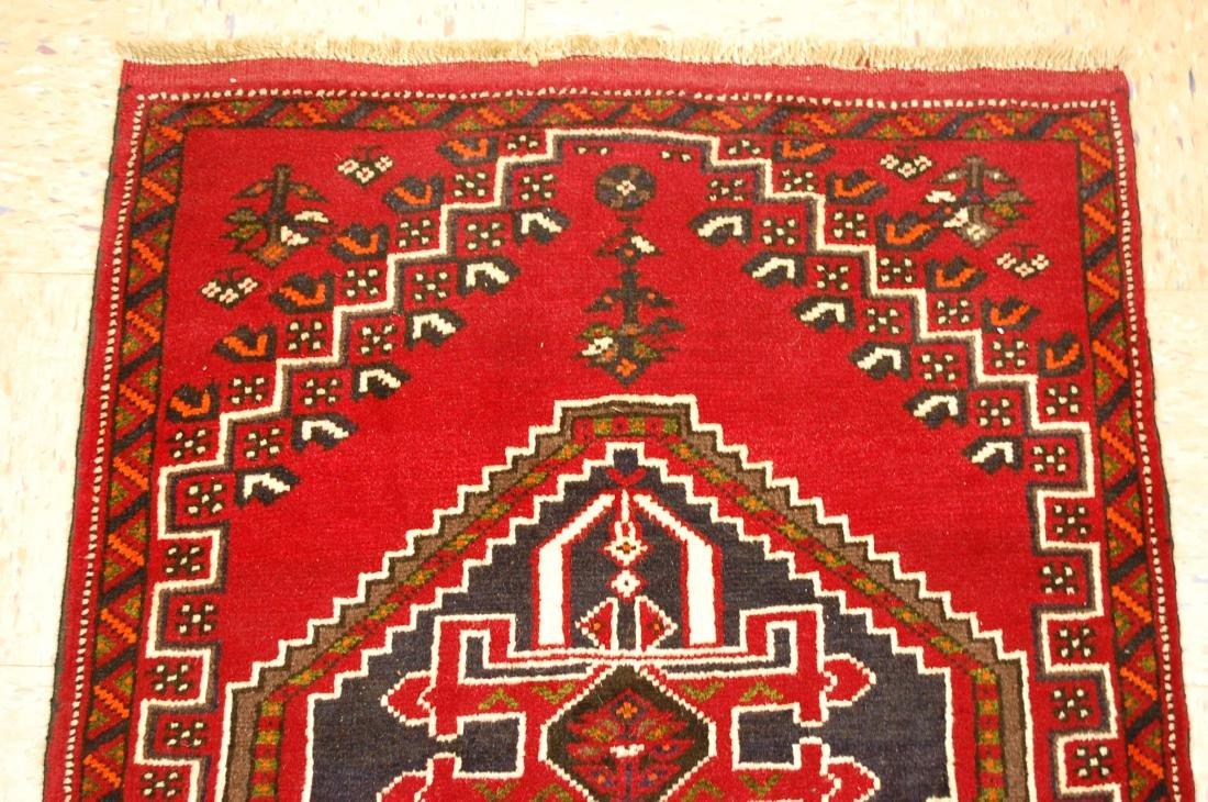 Vintage Persian Shiraz Qashkai Afshar Rug 2.8x5.4 - 3