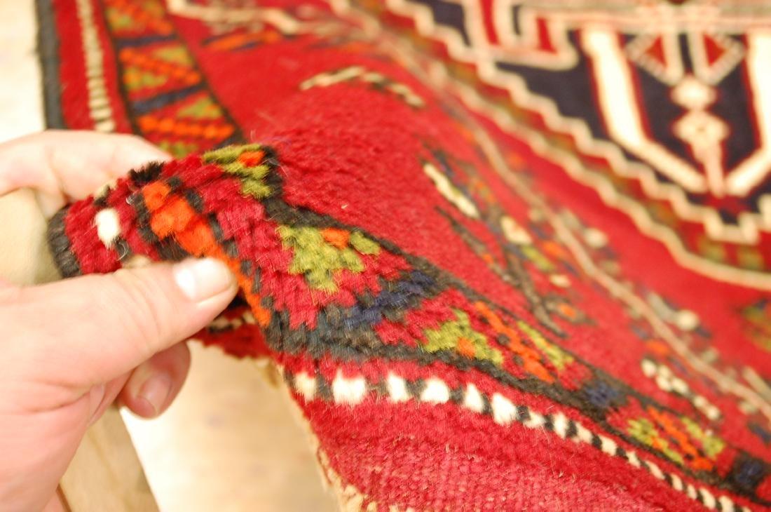 Vintage Persian Shiraz Qashkai Afshar Rug 2.8x5.4 - 5