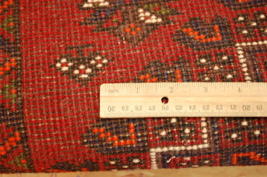 Vintage Persian Shiraz Qashkai Afshar Rug 2.8x5.4 - 6